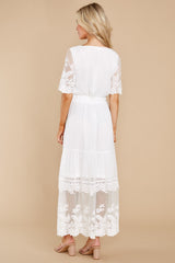 6 Blissfully Nostalgic White Maxi Dress at reddress.com