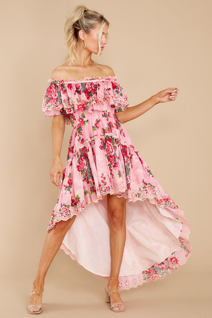 1 Weller Pink Desert Dress at reddress.com