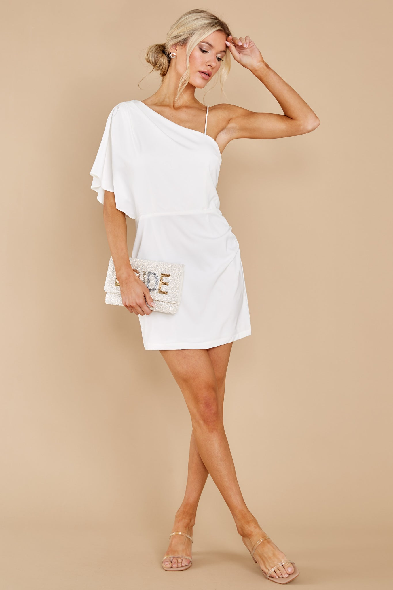 2 Hopeless Romantic White Dress at reddress.com