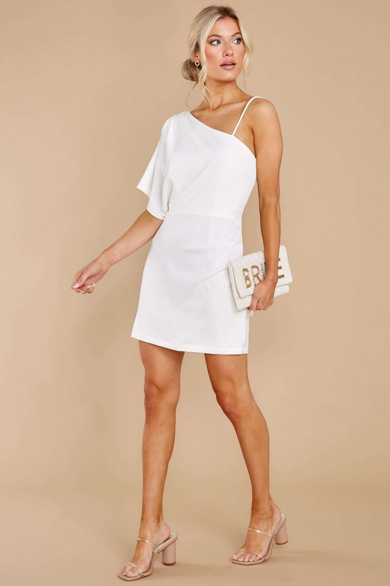3 Hopeless Romantic White Dress at reddress.com