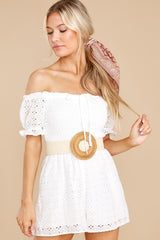 4 Stunning Darling White Eyelet Romper at reddress.com