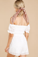 8 Stunning Darling White Eyelet Romper at reddress.com