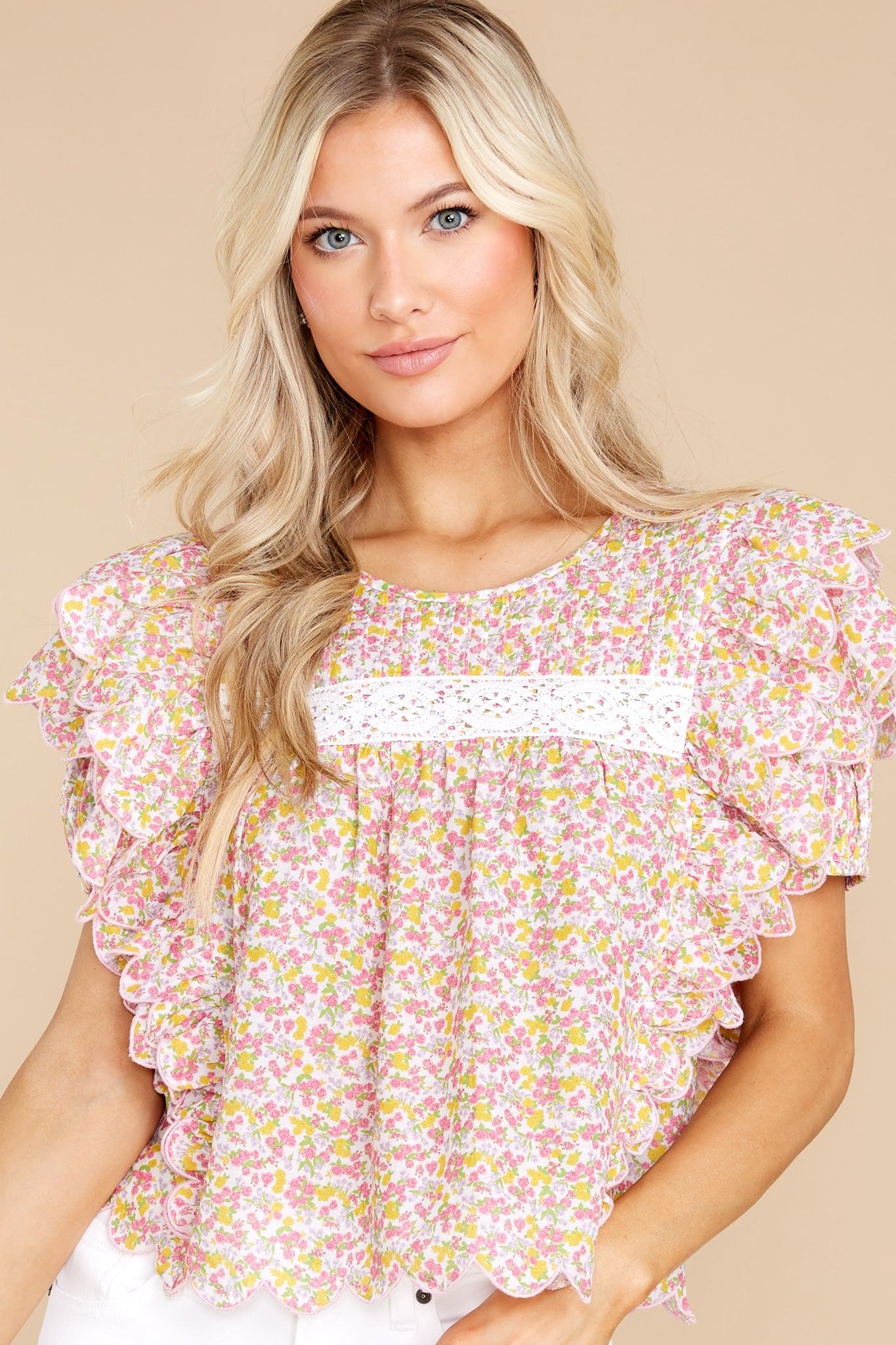 8 Nelson Fruity Punch Top at reddress.com