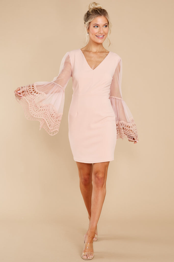 1 Let Your Heart Decide Blush Dress at reddress.com