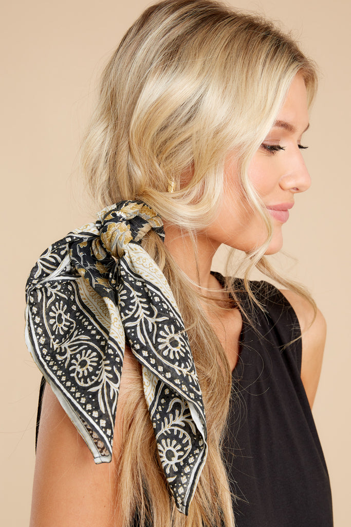 1 Safari Adventure Turquoise Multi Print Scarf at reddress.com