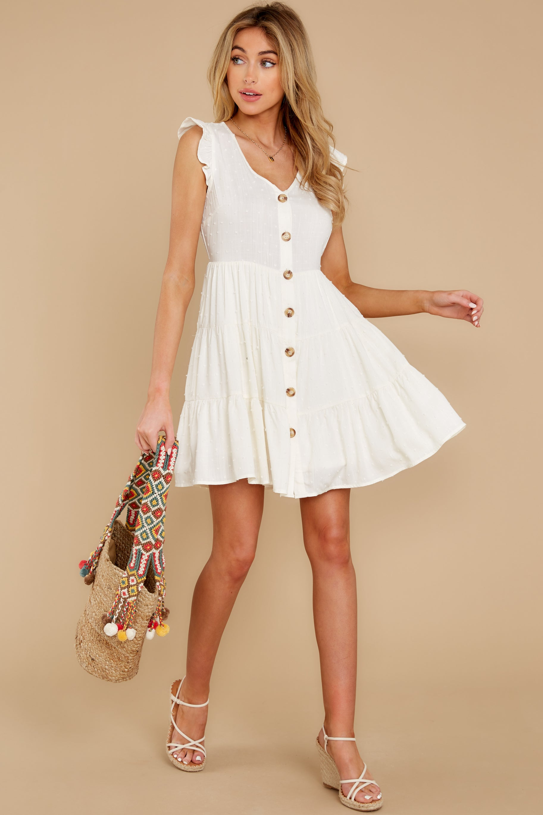 4 With Promises White Dress at reddress.com