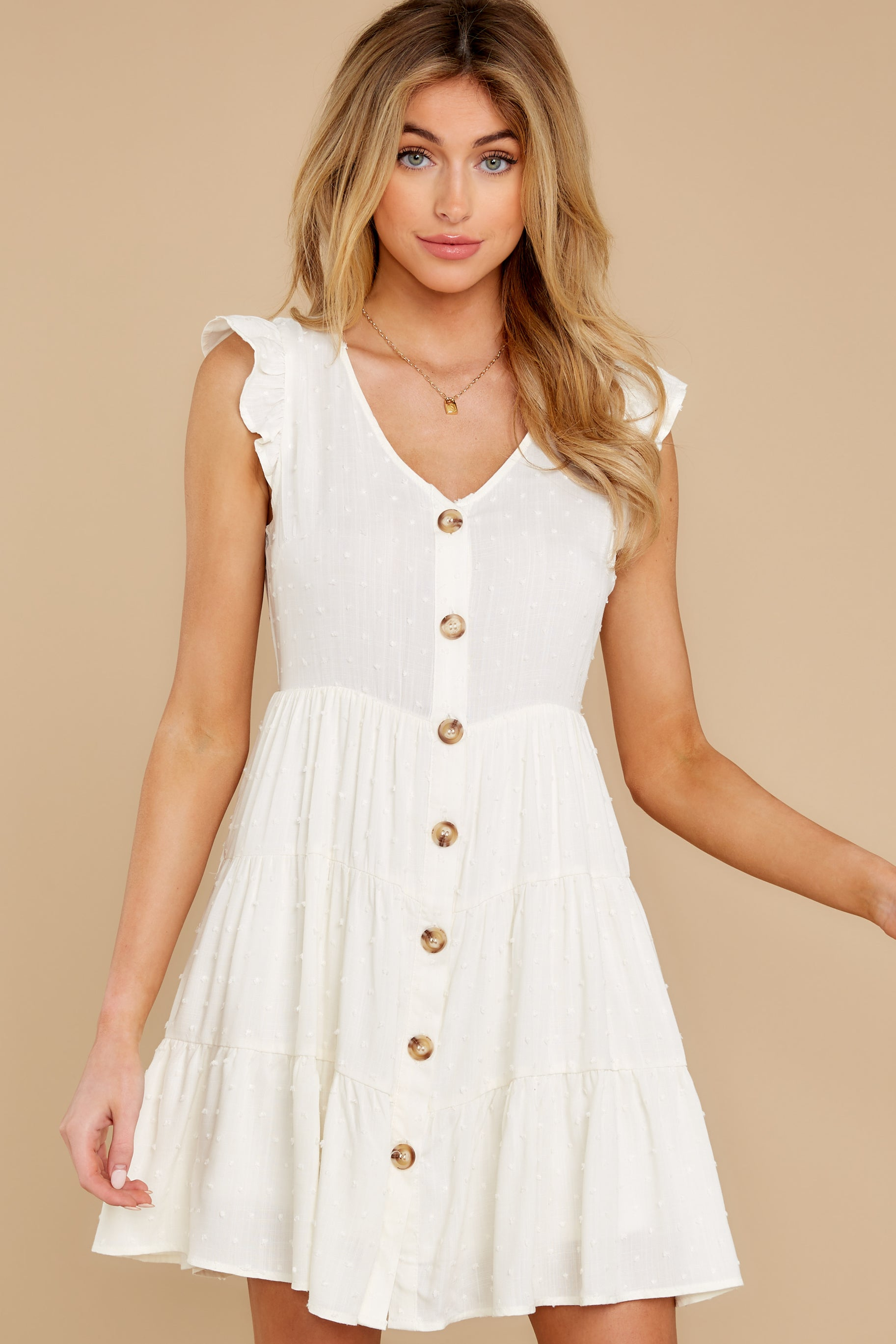 5 With Promises White Dress at reddress.com