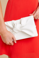 1 Double Check White Clutch at reddress.com