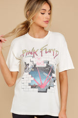6 Pink Floyd Headmaster Weekend White Tee at reddress.com