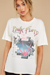 5 Pink Floyd Headmaster Weekend White Tee at reddress.com