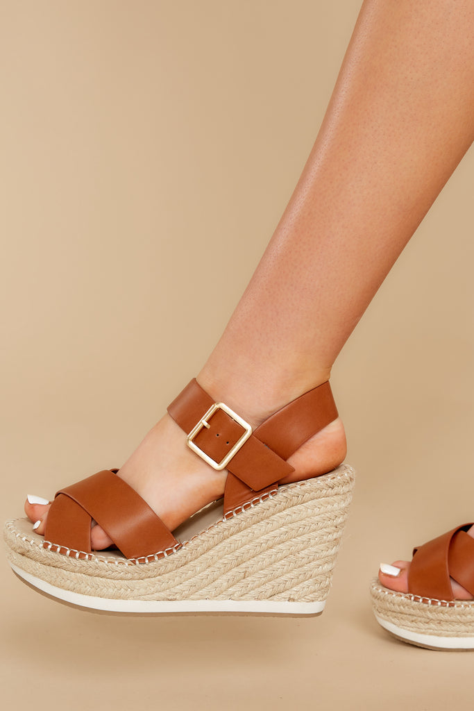 1 Know The Way To You Taupe Flatform Sandals at reddressboutique.com