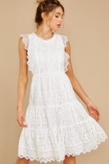 7 Simply Amazing White Lace Dress at reddress.com