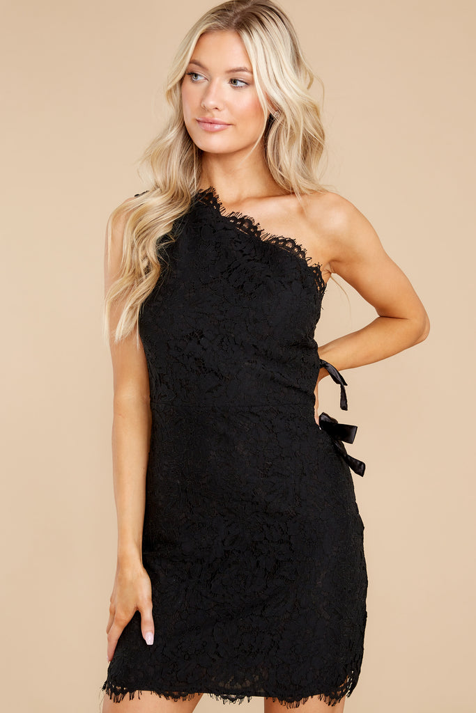2 Fancy This Black Lace Dress at reddress.com
