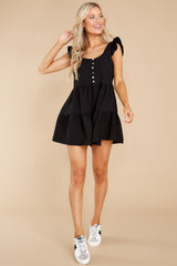2 Watch Me Go By Black Romper at reddress.com