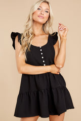 6 Watch Me Go By Black Romper at reddress.com