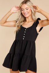 7 Watch Me Go By Black Romper at reddress.com