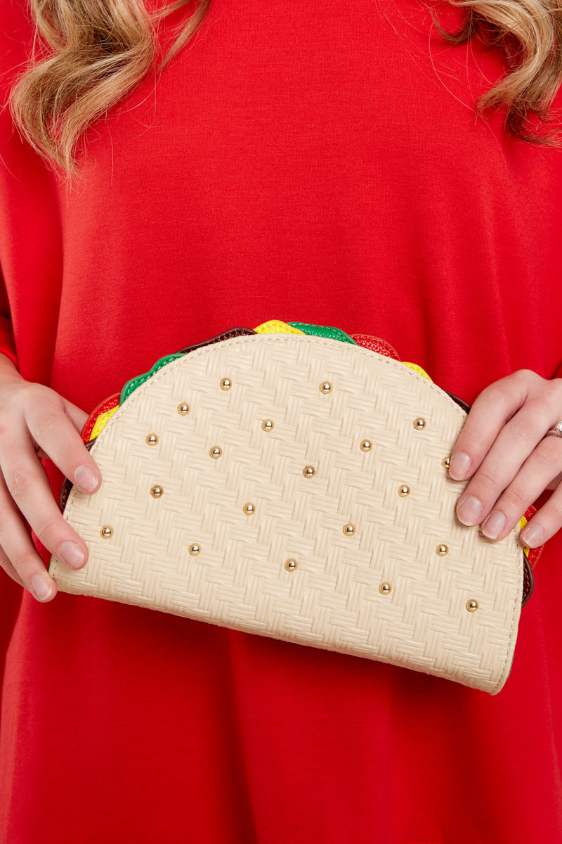 1 Something To Taco About Purse at reddressboutique.com