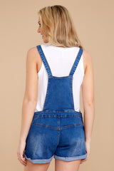 10 No One Can Deny Short Denim Overalls at reddressboutique.com