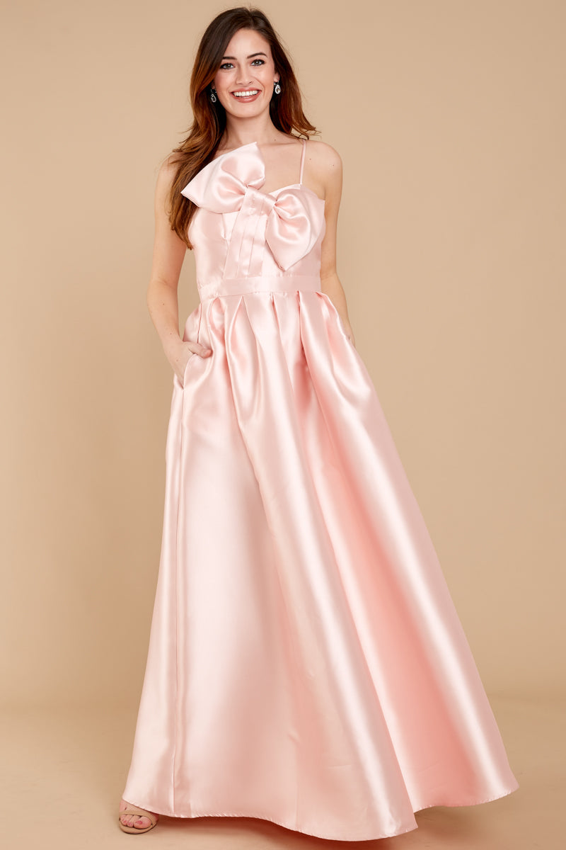 Adorable Light Pink Maxi Dress - Chic Dress - Maxi Dress - $34.00 ...