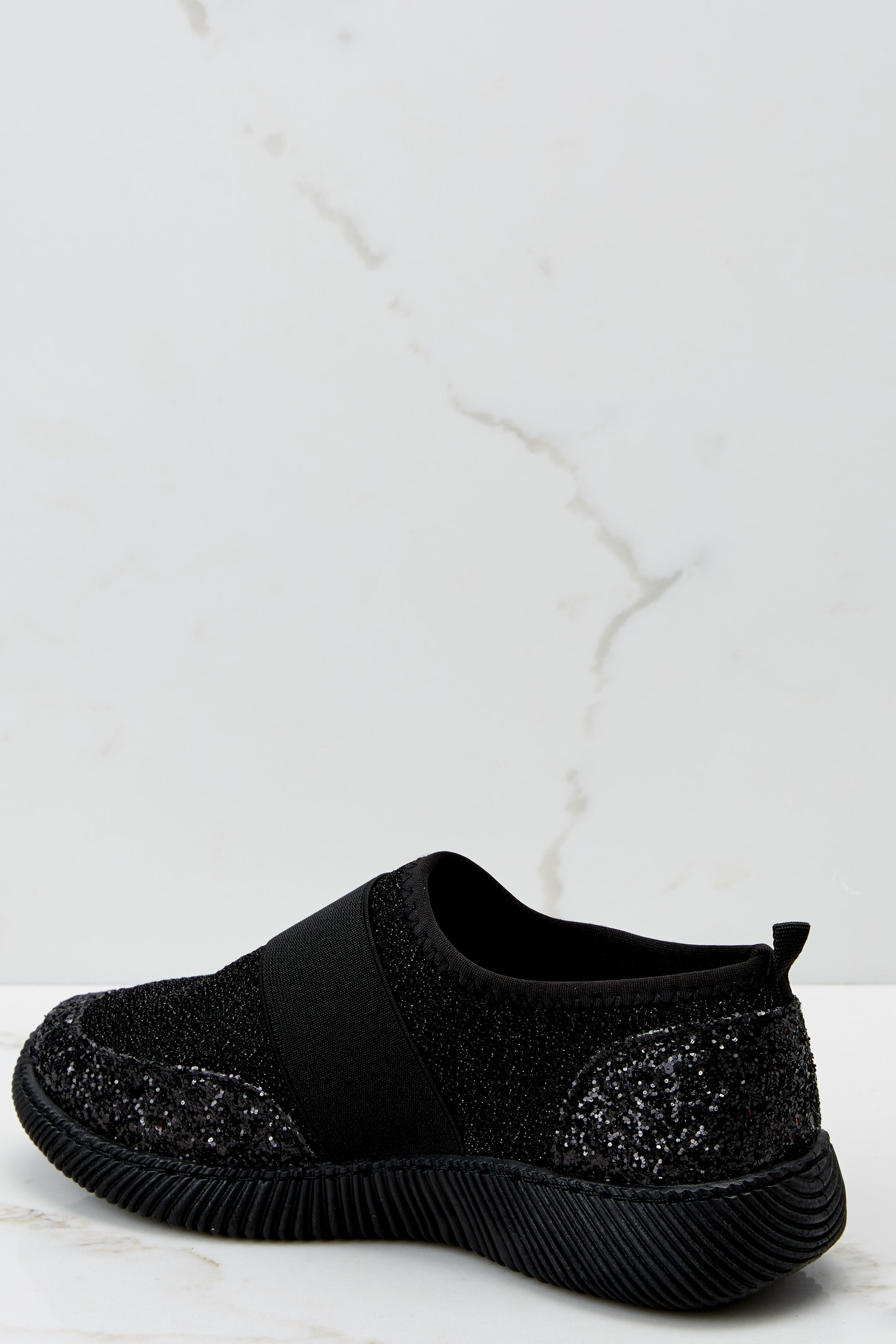 Girl On The Go Black Sneakers