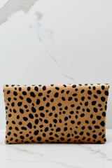 5 No New Tricks Cheetah Clutch at reddress.com