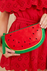 1 Sweet As Can Be Watermelon Clutch at reddressboutique.com