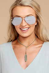 3 Playa Gold Brown Sunglasses at reddressboutique.com