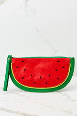 2 Sweet As Can Be Watermelon Clutch at reddressboutique.com