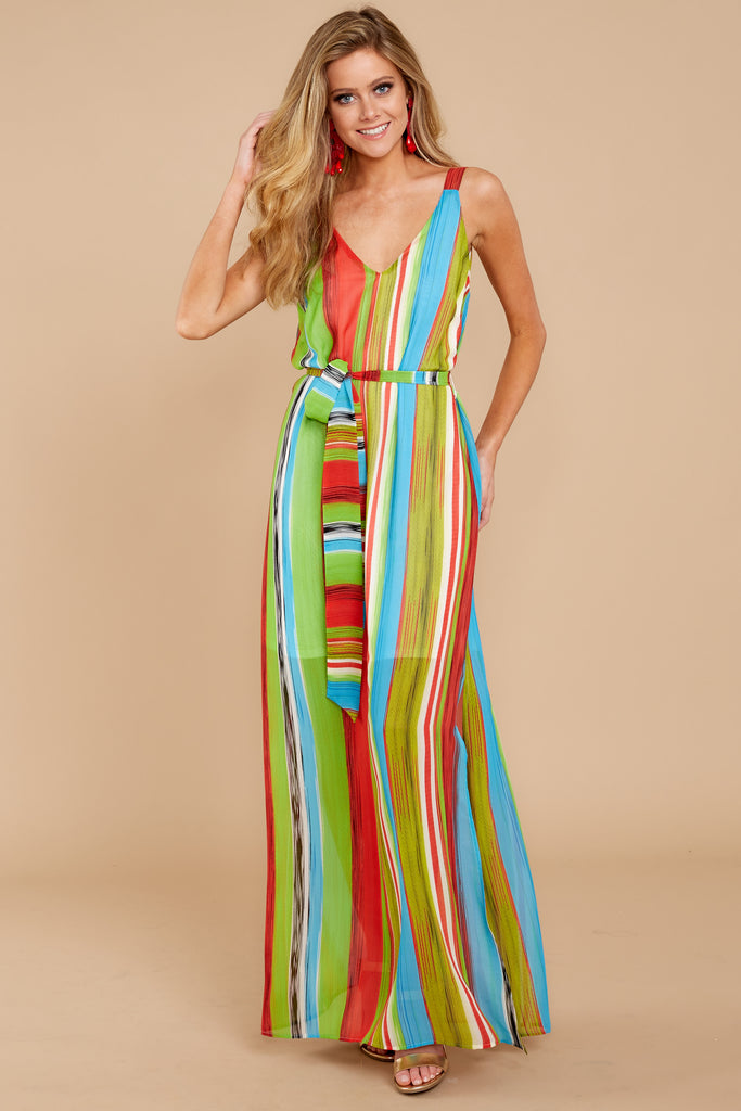 1 Everyday Vacay Maxi Dress In Island Time at reddressboutique.com