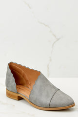 1 Take The Chance Grey Booties at reddressboutique.com