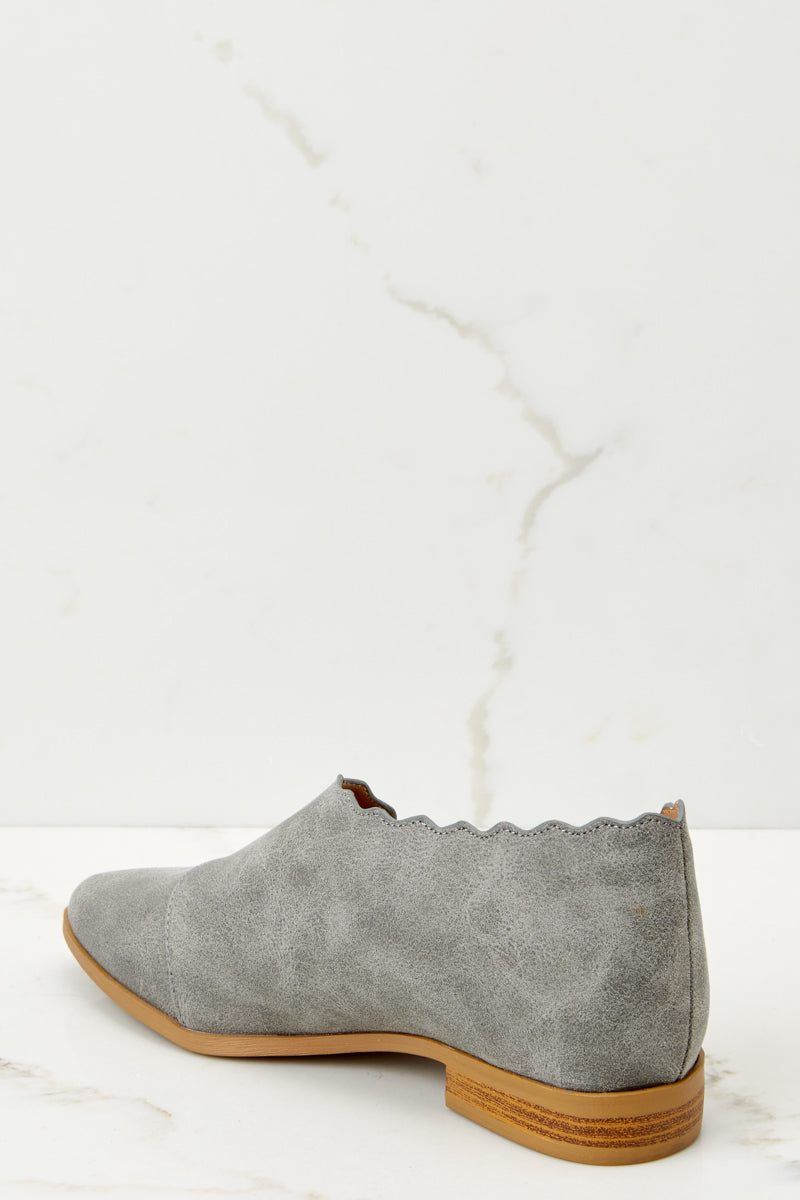 Take The Chance Grey Booties