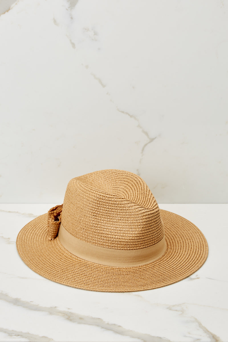 4 Day In The Sun Tan Hat at reddressboutique.com