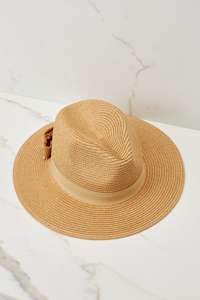 6 Day In The Sun Tan Hat at reddressboutique.com