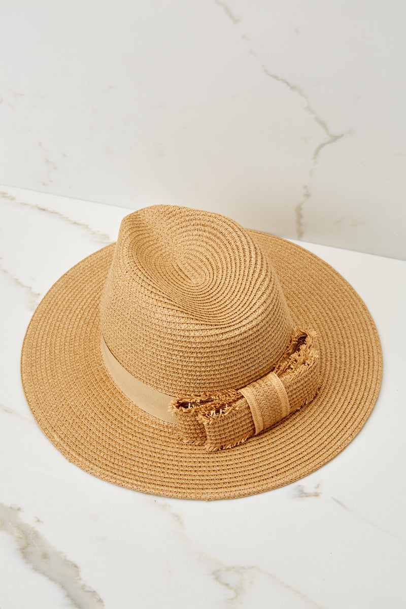 8 Day In The Sun Tan Hat at reddressboutique.com