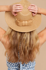 1 Day In The Sun Tan Hat at reddressboutique.com