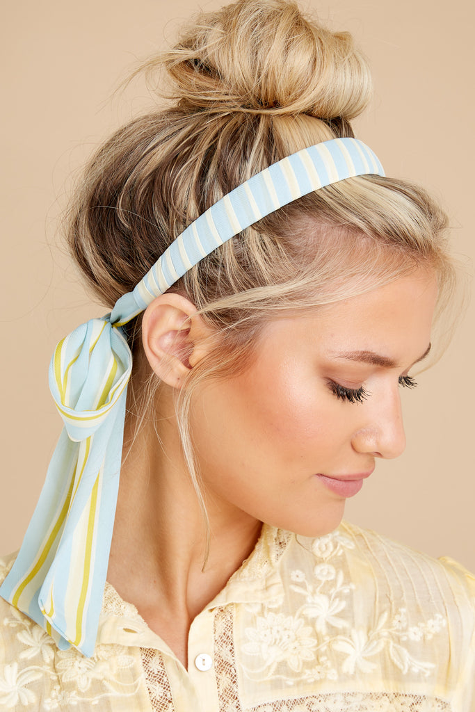 1 Mariposa Yellow Headband at reddress.com