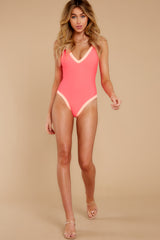 2 Boogie Boarding Pink One-Piece Swimsuit at reddress.com