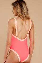 7 Boogie Boarding Pink One-Piece Swimsuit at reddress.com