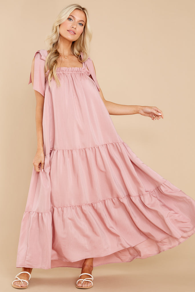 1 Starry Skies Blush Maxi Dress at reddress.com