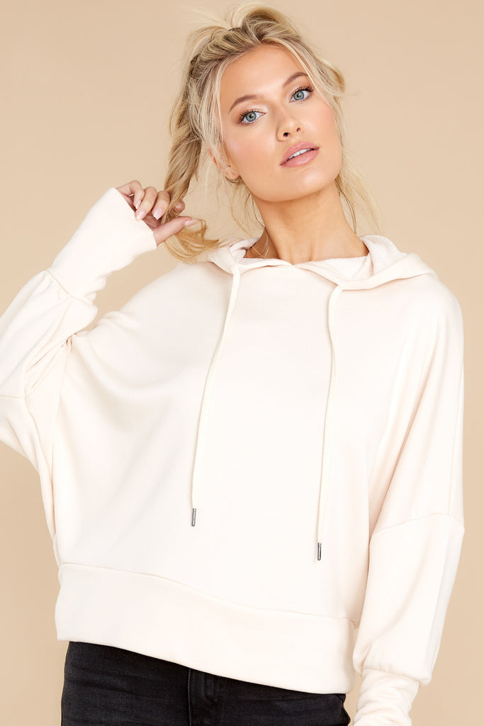 1 Easy Does It Ivory Hoodie at reddress.com