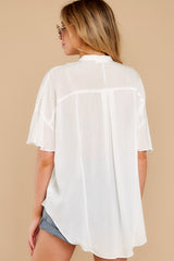 9 Keep In Mind White Top at reddress.com