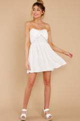 3 Touch Of Magic White Dress at reddress.com