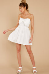 4 Touch Of Magic White Dress at reddress.com