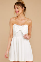 6 Touch Of Magic White Dress at reddress.com