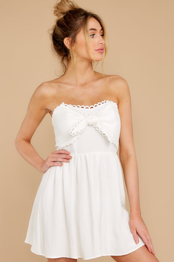 5 Whenever This Happens White Dress at reddressboutique.com