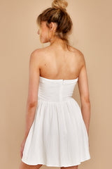 8 Touch Of Magic White Dress at reddress.com