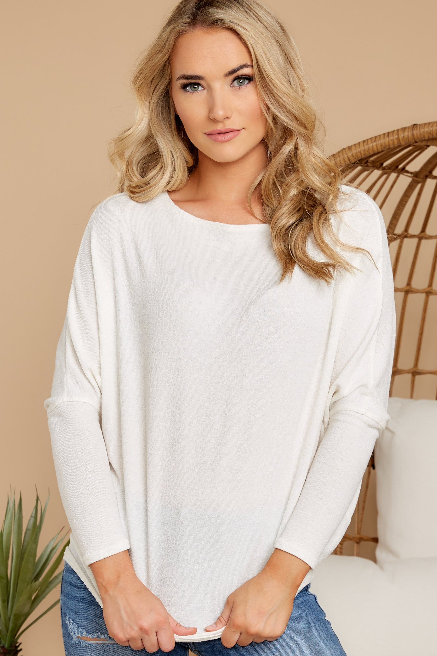 3 Like A Melody Ivory Tunic Top at reddress.com