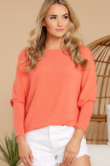 Like A Melody Coral Tunic Top