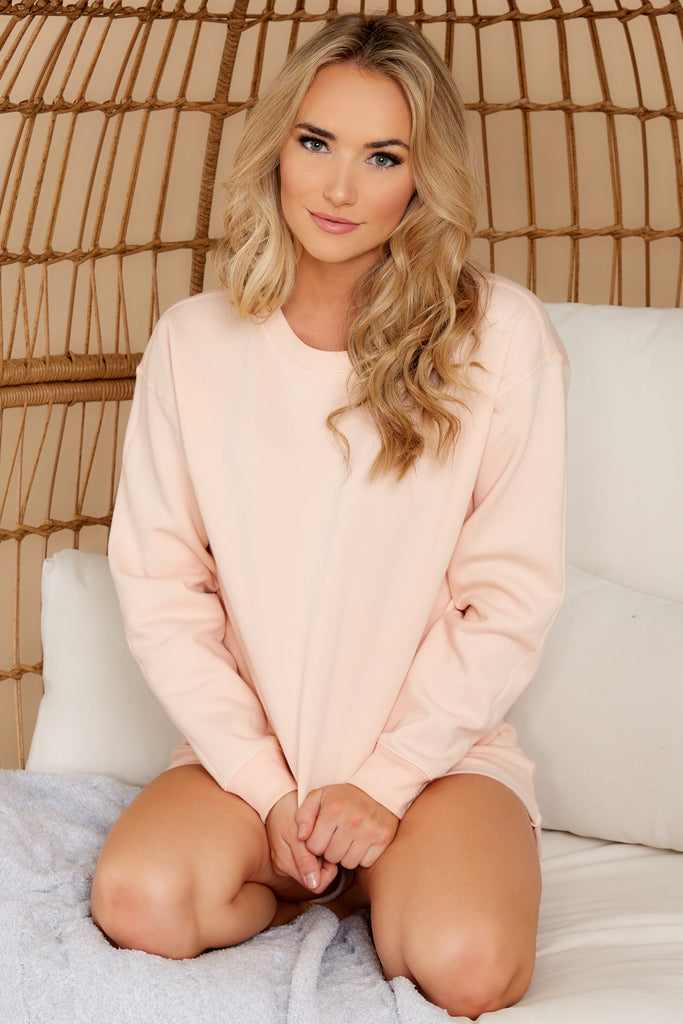 1 Tempest Petal Pink Sweatshirt at reddress.com