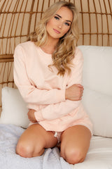 2 Weekend Retreat Peach Beach Sweatshirt at reddress.com